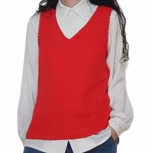 A NEW DAY Pretty red Nordstrom blouse